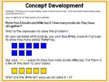 Engage NY (Eureka Math) Presentation 1st Grade Module 2 Lesson 7