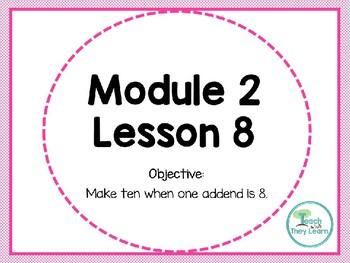 Engage NY (Eureka Math) Presentation 1st Grade Module 2 Lesson 8