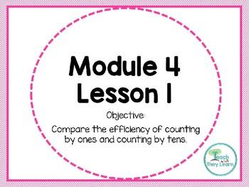 Engage NY/Eureka Math PowerPoint Presentation 1st Grade Module 4 Lesson 1
