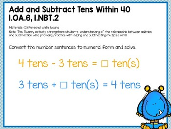 Engage NY (Eureka Math) Presentation 1st Grade Module 4 Lesson 12