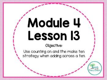 Engage NY (Eureka Math) Presentation 1st Grade Module 4 Lesson 13