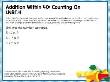 Engage NY (Eureka Math) Presentation 1st Grade Module 4 Lesson 14