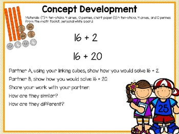 Engage NY (Eureka Math) Presentation 1st Grade Module 4 Lesson 16