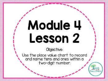 Engage NY/Eureka Math PowerPoint Presentation 1st Grade Module 4 Lesson 2