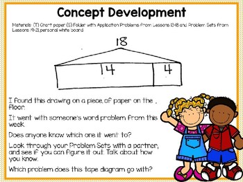 Engage NY (Eureka Math) Presentation 1st Grade Module 4 Lesson 22