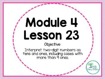 Engage NY/Eureka Math PowerPoint Presentation 1st Grade Module 4 Lesson 23