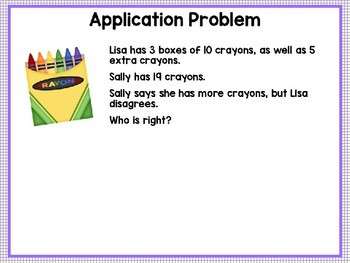 Engage NY (Eureka Math) Presentation 1st Grade Module 4 Lesson 4