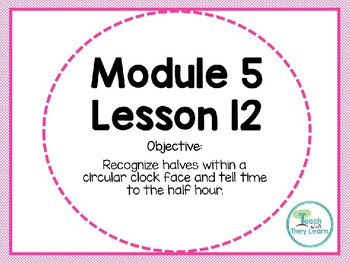 Engage NY (Eureka Math) Presentation 1st Grade Module 5 Lesson 12