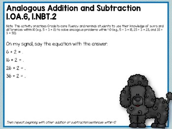 Engage NY (Eureka Math) Presentation 1st Grade Module 5 Lesson 13