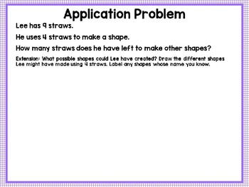 Engage NY (Eureka Math) Presentation 1st Grade Module 5 Lesson 2