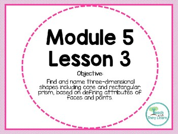Engage NY (Eureka Math) Presentation 1st Grade Module 5 Lesson 3