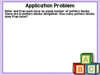 Engage NY (Eureka Math) Presentation 1st Grade Module 5 Lesson 8