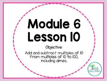 Engage NY/Eureka Math PowerPoint Presentation 1st Grade Module 6 Lesson 10