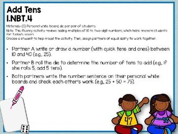 Engage NY (Eureka Math) Presentation 1st Grade Module 6 Lesson 14