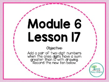 Engage NY (Eureka Math) Presentation 1st Grade Module 6 Lesson 17