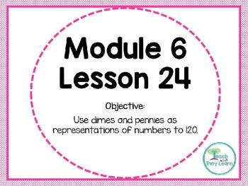 Engage NY (Eureka Math) Presentation 1st Grade Module 6 Lesson 24