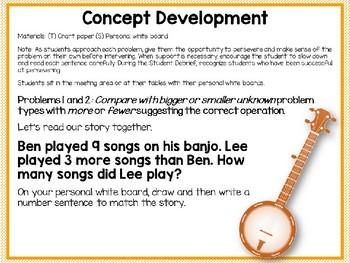 Engage NY/Eureka Math PowerPoint Presentation 1st Grade Module 6 Lesson 25