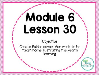 Engage NY (Eureka Math) Presentation 1st Grade Module 6 Lesson 30