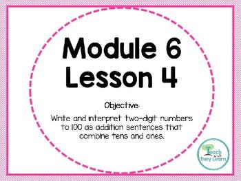 Engage NY/Eureka Math PowerPoint Presentation 1st Grade Module 6 Lesson 4