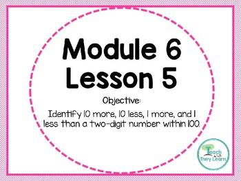 Engage NY/Eureka Math PowerPoint Presentation 1st Grade Module 6 Lesson 5