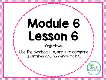 Engage NY (Eureka Math) Presentation 1st Grade Module 6 Lesson 6