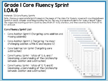 Engage NY/Eureka Math PowerPoint Presentation 1st Grade Module 6 Lesson 7