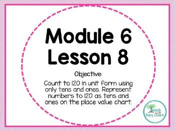 Engage NY/Eureka Math PowerPoint Presentation 1st Grade Module 6 Lesson 8