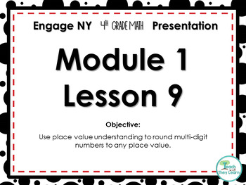 Engage NY/Eureka Math PowerPoint Presentation 4th Grade Module 1 Lesson 9