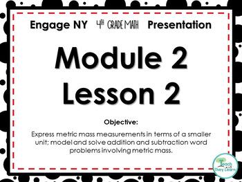 Engage NY/Eureka Math PowerPoint Presentation 4th Grade Module 2 Lesson 2