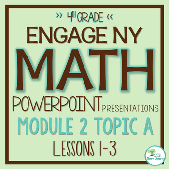 Engage NY/Eureka Math PowerPoint Presentations 4th Grade Module 2 Topic A
