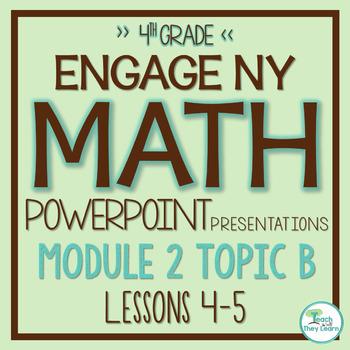 Engage NY/Eureka Math PowerPoint Presentations 4th Grade Module 2 Topic B