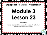 Engage NY/Eureka Math PowerPoint Presentation 4th Grade Module 3 Lesson 23