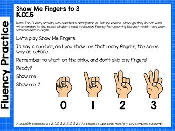 Engage NY/Eureka Math Presentations Kindergarten Module 1 Topic A Lessons 1-3