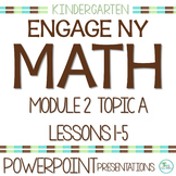 Engage NY/Eureka Math Presentations Kindergarten Module 2 Topic A Lessons 1-5
