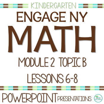 Engage NY/Eureka Math PowerPoint Presentations Kindergarten Module 2 Topic B