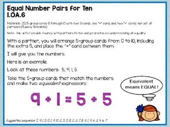 Engage NY (Eureka Math) Presentation 1st Grade Module 2 Lesson 1
