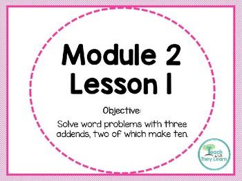 Engage NY/Eureka Math PowerPoint Presentation 1st Grade Module 2 Lesson 1