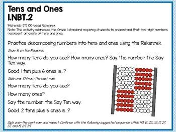 Engage NY (Eureka Math) Presentations 1st Grade Module 3 Topic A Lessons 1-3