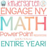 Engage New York/Eureka Math PowerPoint Presentations Kindergarten ENTIRE YEAR!