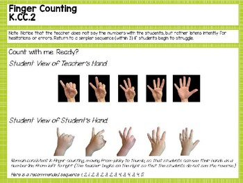Engage NY/Eureka Math PowerPoint Presentations Kindergarten Module 1 Lesson 10