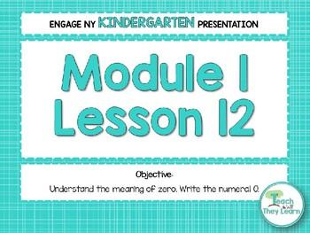 Engage NY/Eureka Math PowerPoint Presentations Kindergarten Module 1 Lesson 12