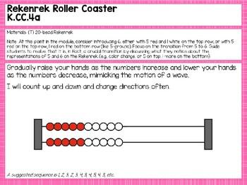 Engage NY/Eureka Math Presentations Kindergarten Module 1 Lesson 13