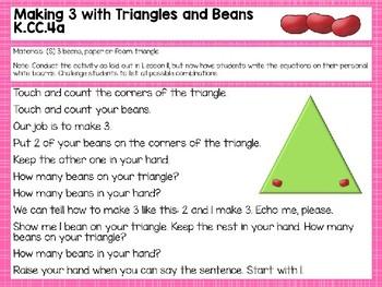 Engage NY/Eureka Math PowerPoint Presentations Kindergarten Module 1 Lesson 20