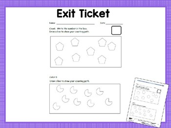 Engage NY/Eureka Math Presentations Kindergarten Module 1 Lesson 22