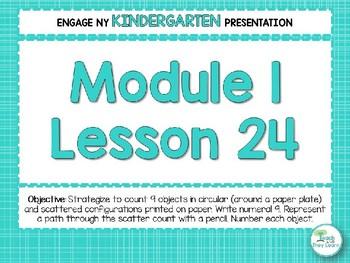 Engage NY/Eureka Math PowerPoint Presentations Kindergarten Module 1 Lesson 24