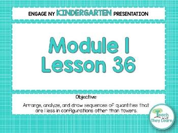 Engage NY/Eureka Math Presentations Kindergarten Module 1 Lesson 36