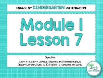 Engage NY/Eureka Math PowerPoint Presentations Kindergarten Module 1 Lesson 7