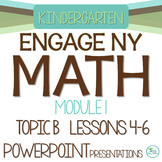 Engage NY/Eureka Math PowerPoint Presentations Kindergarten Module 1 Topic B