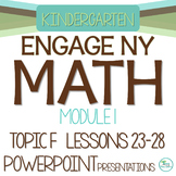 Engage NY/Eureka Math Presentations Kindergarten Module 1 Topic F Lessons 23-28