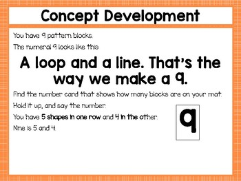 Engage NY/Eureka Math Presentations Kindergarten Module 1 Topic F Lessons 23-28